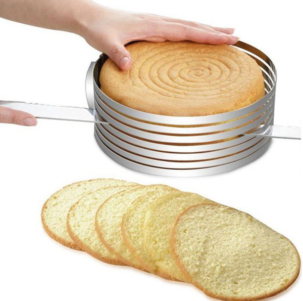 Cake Slicing Guide - Stainless Steel