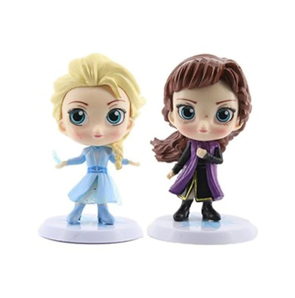 Cake Topper 4pc- Frozen 2