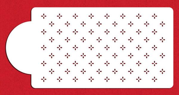 Designer Stencil Mini Swiss Dot C546
