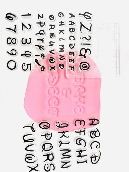 Cookie Stamp / Embosser Set – Disney Font