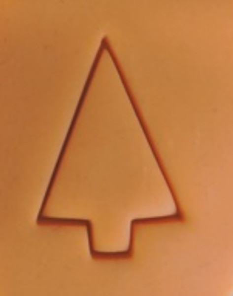 Plastic Cutter - Christmas Tree