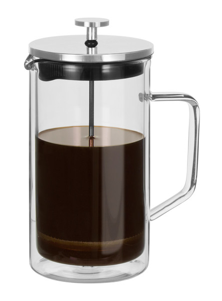 Capri Double Wall Coffee Plunger - 8 Cup / 1000ml