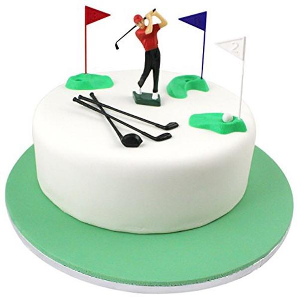 Cake Topper - Golfer Figurine
