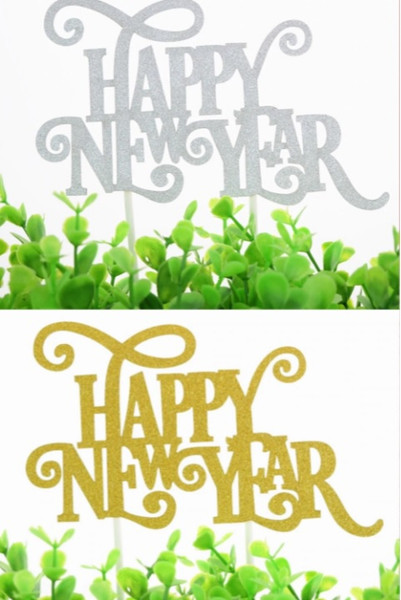 Cake Toppers - Happy New Year