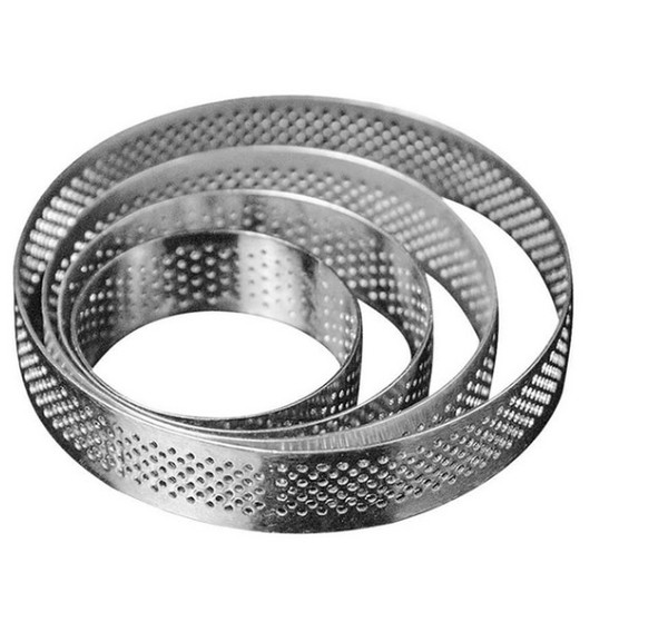 Perforated Tart Ring 100*20mm