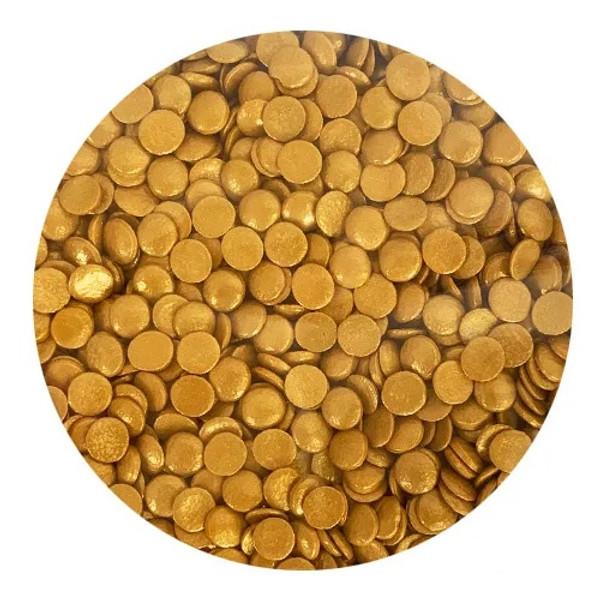 Bulk Sprinkles 1KG - GOLD SEQUINS