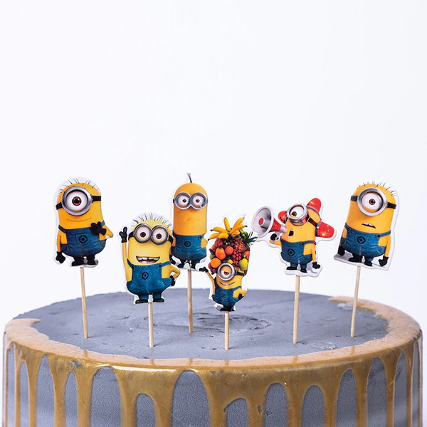 Cupcake Toppers 24pc - Minions
