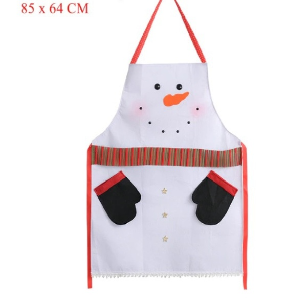 Christmas Snowman Apron