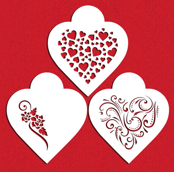 Contemporary Hearts C351