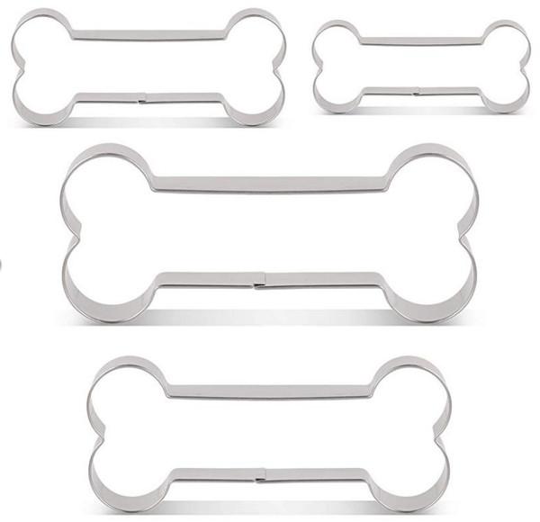 Bone Cookie Cutter 4pc Set