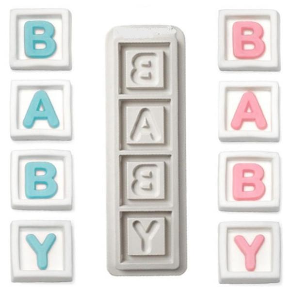 BABY Blocks Silicone Mold