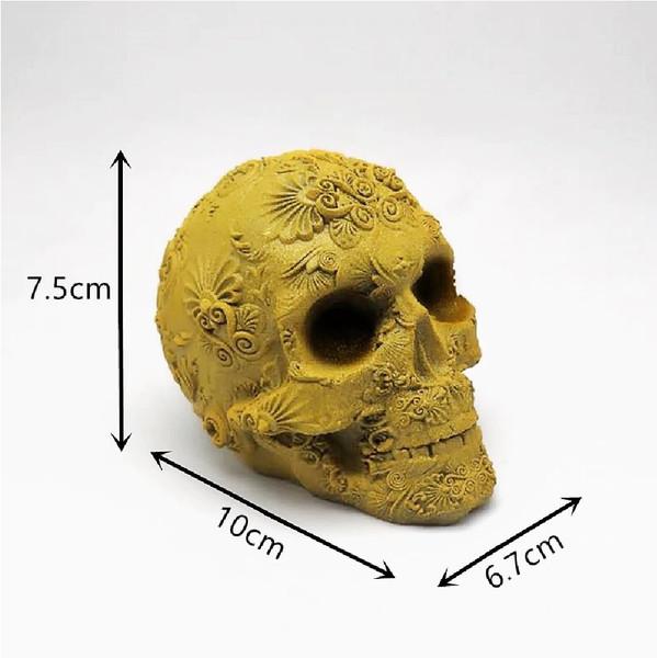 Sugar Skull Mold size