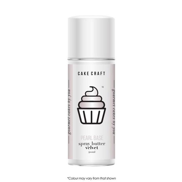 Spray Butter Velvet-Pearl Base 400g