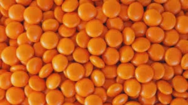 Chocolate Gems 100g - Orange