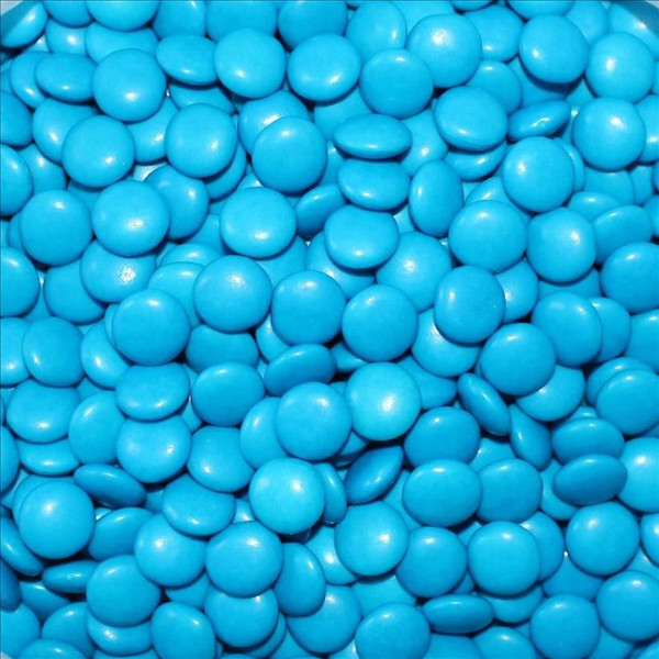 Chocolate Gems 100g - Sky Blue