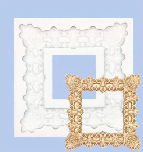 Large Square Plaque(Mirror) Silicone mold
