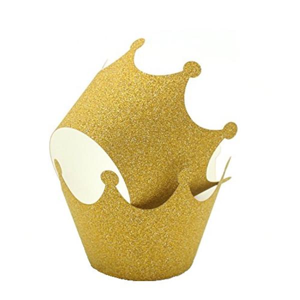 Cupcake Wrap 12pc - Crown