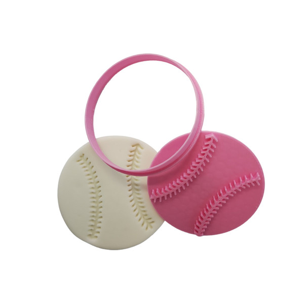 Cookie Cutter and Embosser - Baseball