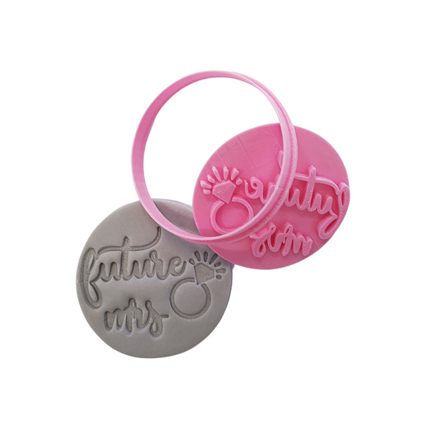 Cookie Cutter and Embosser - Future Mrs