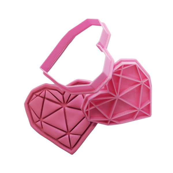 Cookie Cutter and Embosser - Heart