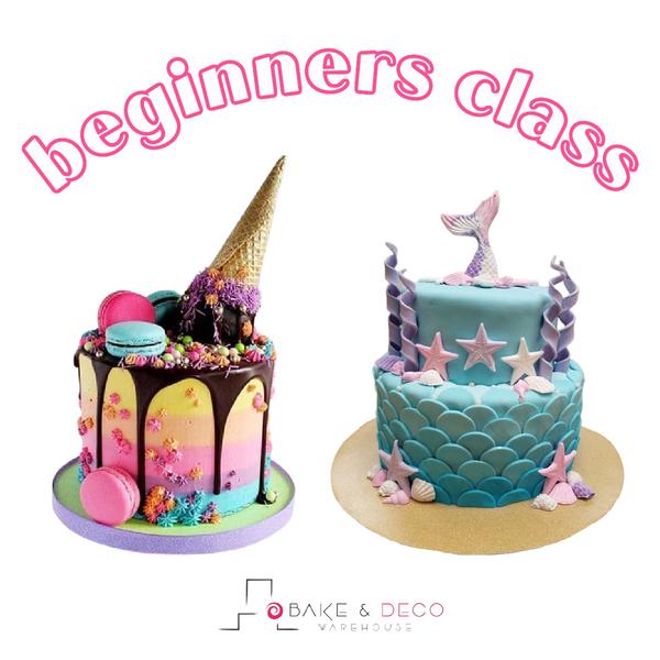 Beginners Cake Decorating Class