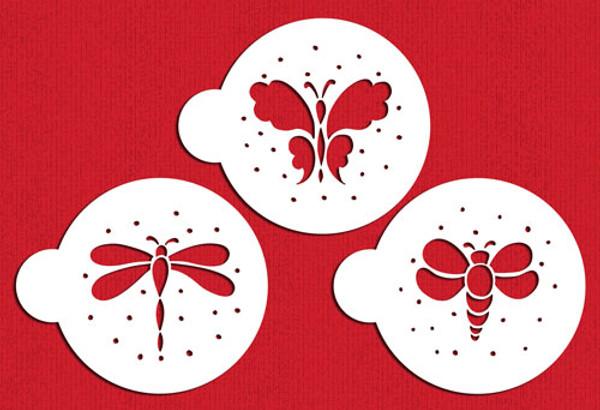 Designer Stencils Garden Bugs C324