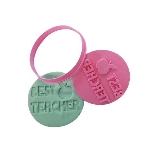 Best Teacher Cookie Cutter and Embosser
