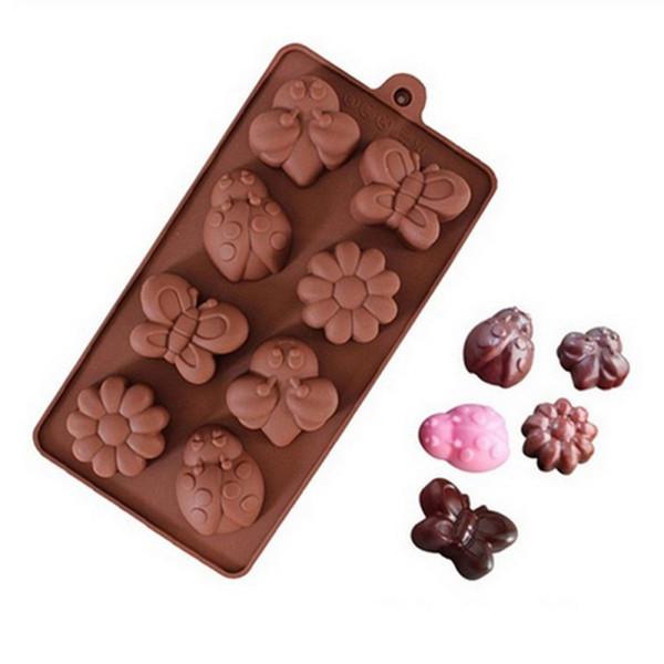 Spring Time Garden Small Chocolate Mold