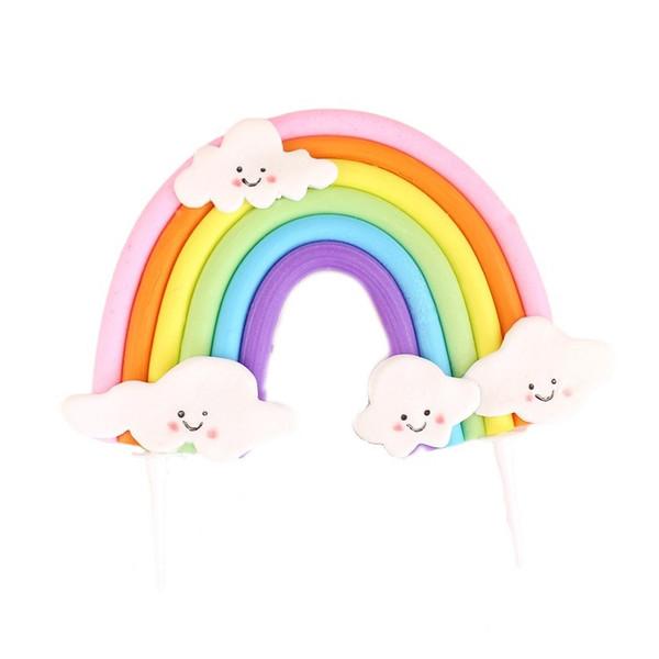 Cake Topper - Rainbow