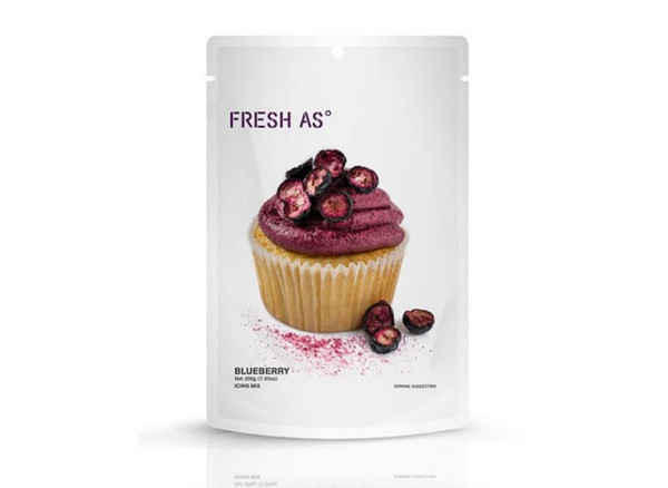 Blueberry Icing Mix 200g