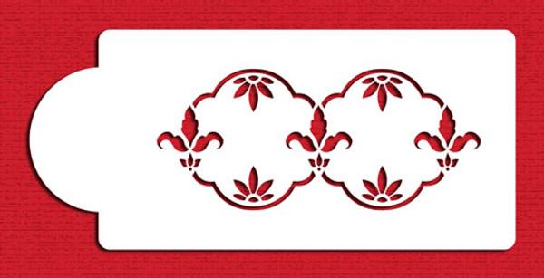 Designer Stencils Fleur de lis C003