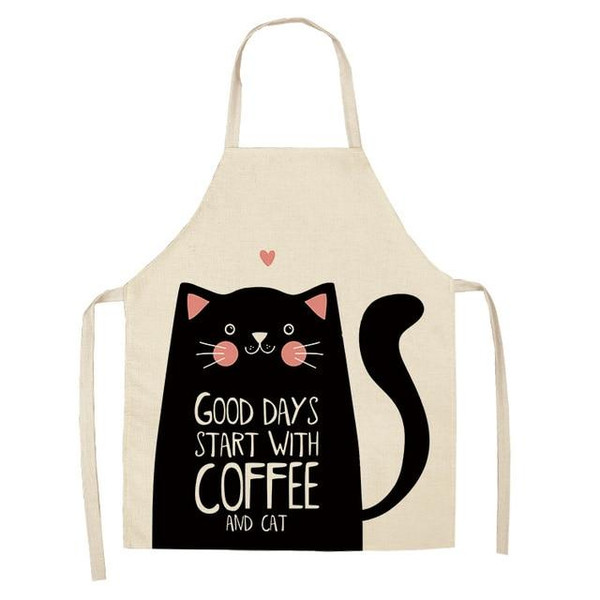 Good Days Start With Coffee and Cat Apron