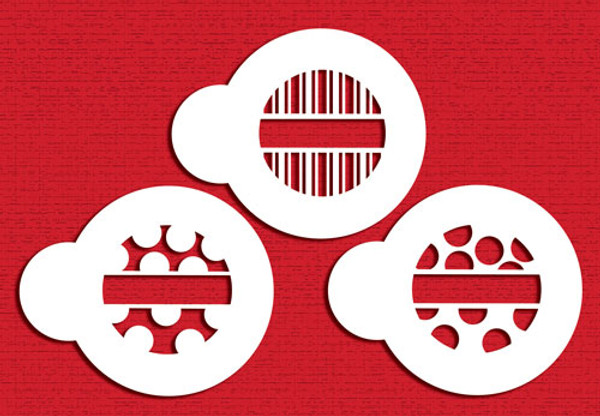 Designer Stencils Mini Dots & Stripes C794