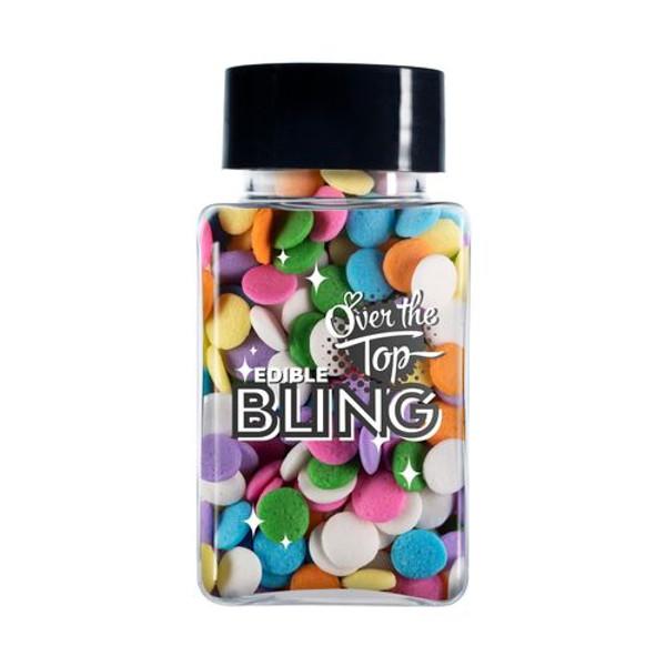Bling Sprinkles-Pastel Confetti Sprinkles 55g