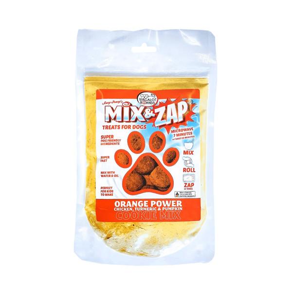 Cookie Mix Orange Power – Chicken, Turmeric, & Pumpkin