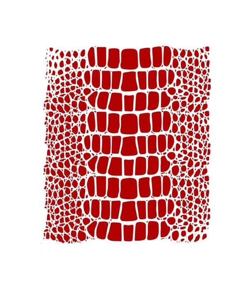Crocodile Skin Texture Stencil