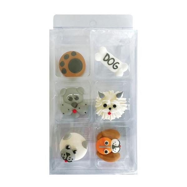 Sugar Decorations- Dogs(6 piece)