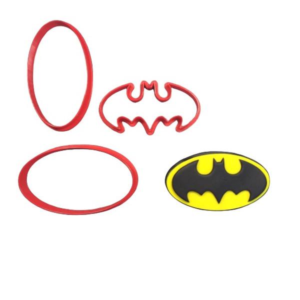 Batman Logo Large Cookie Cutter and Embosser