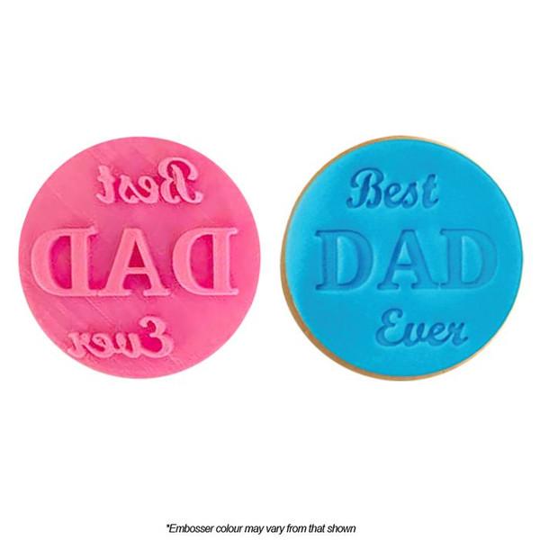Cookie Embosser - Best Dad Ever