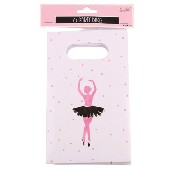 Shmick Party Bags 6pc - Ballerina
