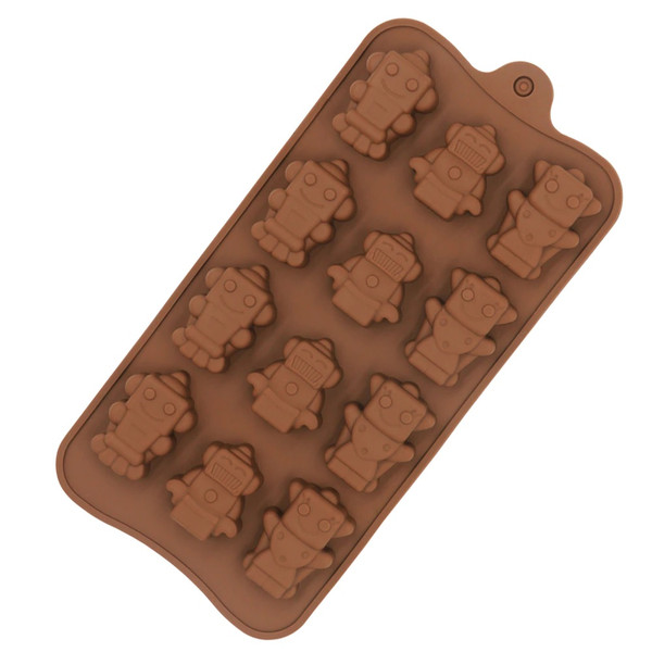 Robot 12 Cavity Chocolate Mold