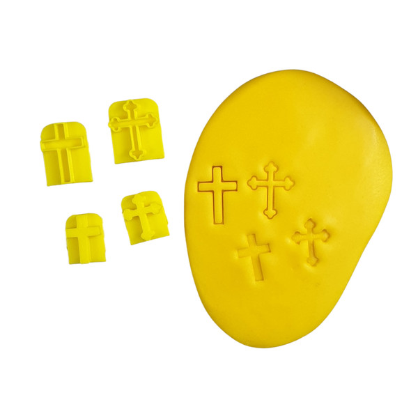 Cross Cookie Cutter and Embosser