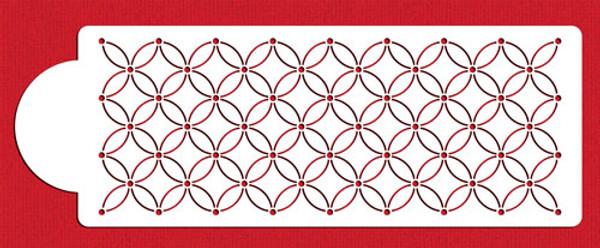 Deco Interlocking Circles C885