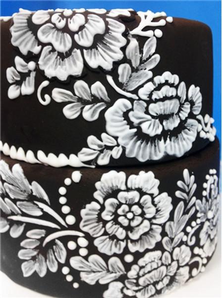 Designer Stencils Brush Emroidery Flower Set C790