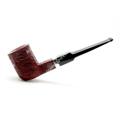 Dunhill Rubybark Sterling Group 5 Pipe #5224