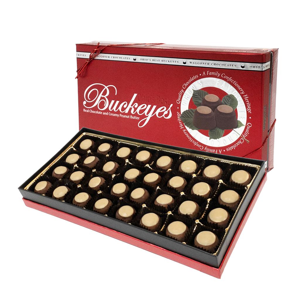 BUCKEYES GOLD GOURMET GIFT BOX  13.25 OZ.