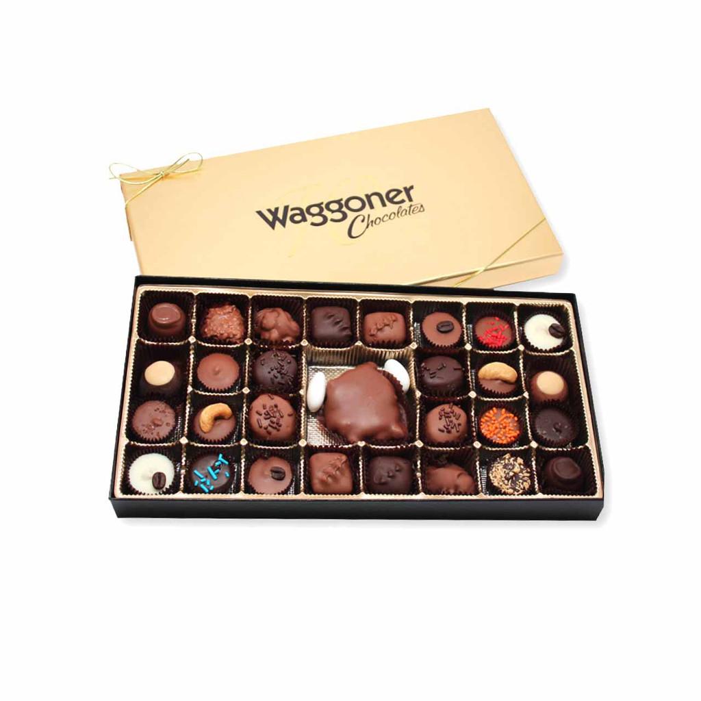 ASSORTED GOURMET CHOCOLATE 14 OZ.
