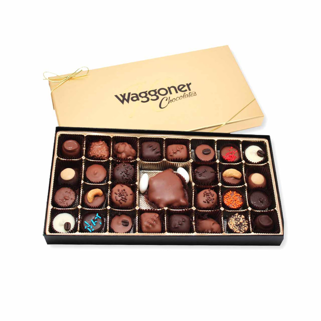 ASSORTED GOURMET CHOCOLATE 28 OZ.
