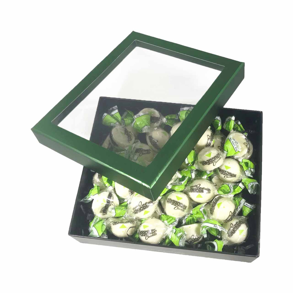 KEY LIME SOFT CENTER GREEN WINDOW GIFT BOX 16 OZ.