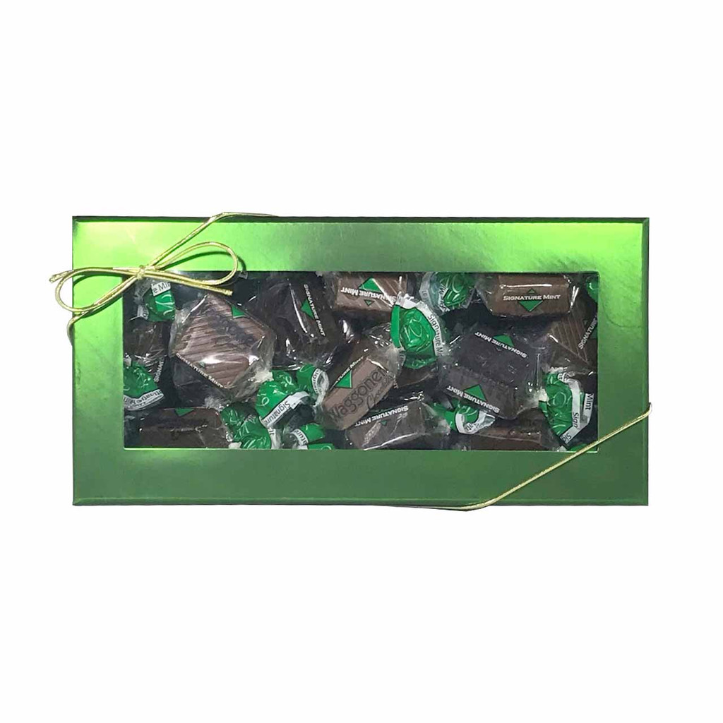 SIGNATURE MINT GREEN WIDOW GIFT BOX 8 OZ.